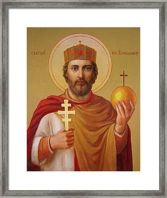 Saint Volodymyr Framed Print