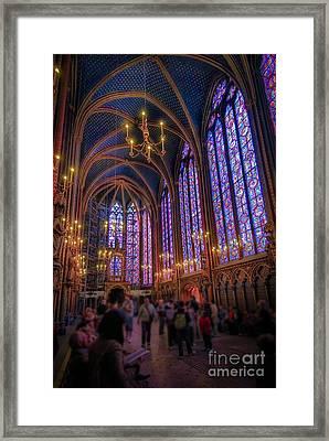 Sainte-chapelle Framed Print