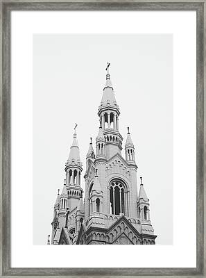 Saints Peter And Paul Church 1- By Linda Woods Framed Print