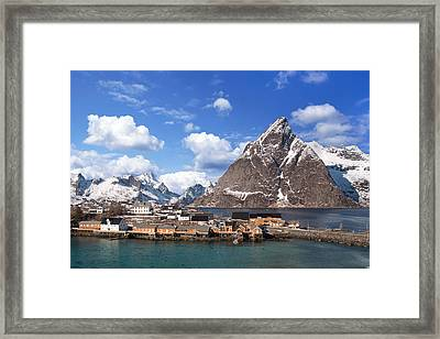 Sakrisoy Framed Print by Alex Conu