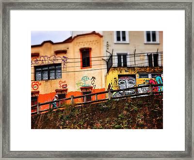 Saks Framed Print