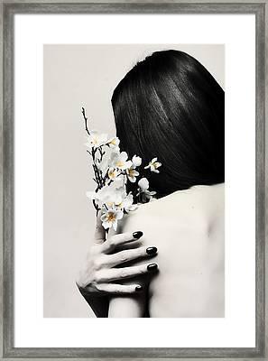 Sakura Framed Print by Art of Invi