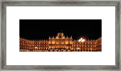Salamanca Plaza Iv Spain Framed Print