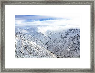Salang Pass Framed Print