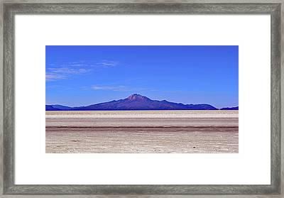 Salar De Uyuni No. 222-1 Framed Print