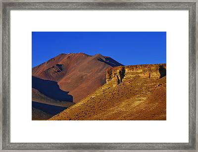 Salar De Uyuni Tour 21 Framed Print by Skip Hunt