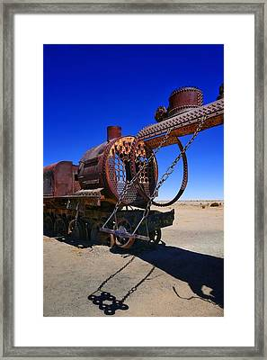 Salar De Uyuni Tour 69 Framed Print by Skip Hunt