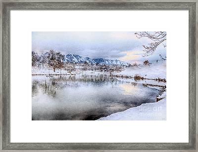 Salem Lake  Framed Print by David Millenheft
