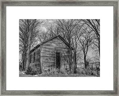 Salem School Framed Print by Dan Traun