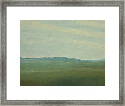 Salen Afternoon Light 90x60 Cm Framed Print