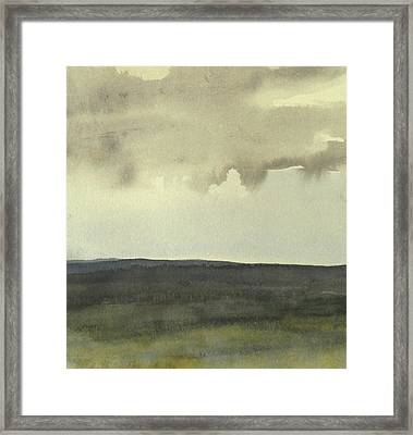 Salen Cloudy Weather. Up Tp 60 X 60 Cm Framed Print