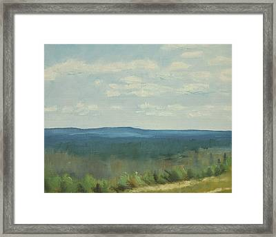 Salen Daylight Two Framed Print