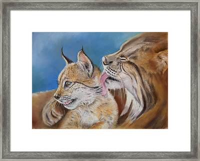 Framed Print featuring the painting Saliega Y Brezo by Ceci Watson