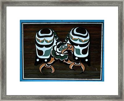 Framed Print featuring the photograph Salish Painting by 'REA' Gallery