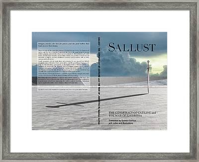 Sallust Cover Framed Print