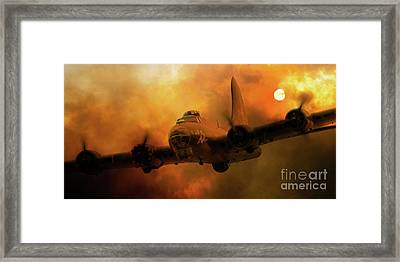 Sally B - Fire Framed Print