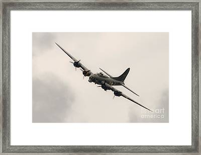 Sally B Flying Fortress Framed Print