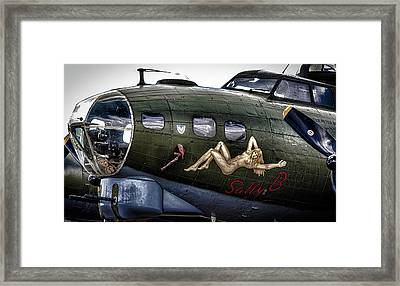 Sally B Framed Print by Martin Newman