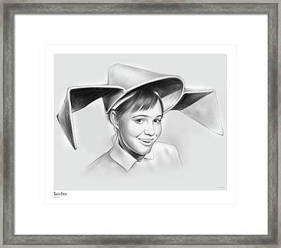 Sally Field Framed Print