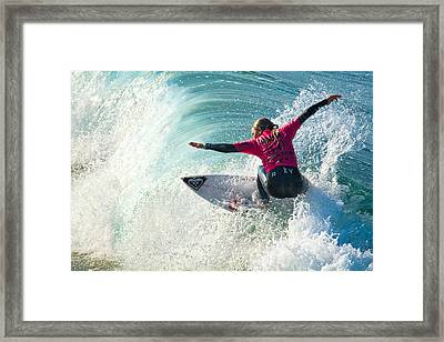 Sally Fitzgibbons Framed Print