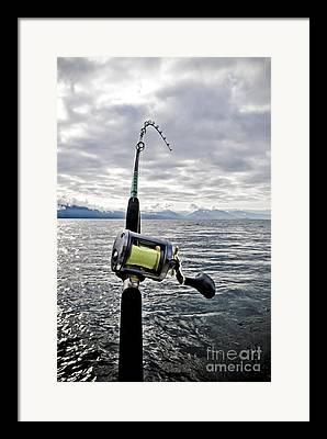Fishing Rods Framed Prints