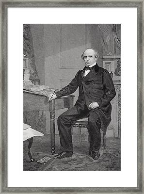 Salmon Portland Chase 1808 To 1873 Framed Print