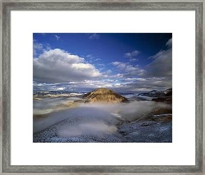 Salmon River Mountains Framed Print