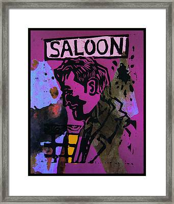 Saloon 1 Framed Print by Adam Kissel