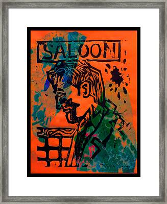 Saloon Framed Print by Adam Kissel