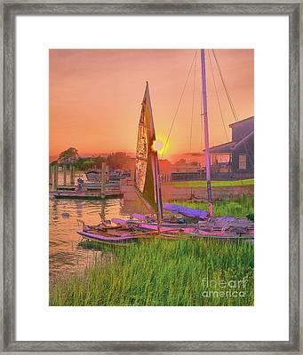 Sailor's Rest Framed Print
