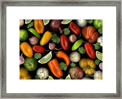 Salsa Framed Print by Christian Slanec