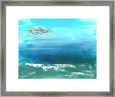 Salt Air Framed Print