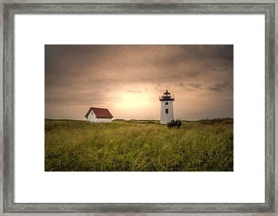 Salt Air Serene Framed Print
