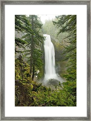 Salt Creek Falls Framed Print