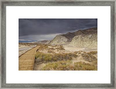 Salt Creek Trail Framed Print