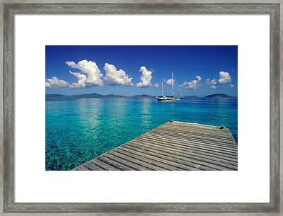 Salt Island Ancorage Framed Print