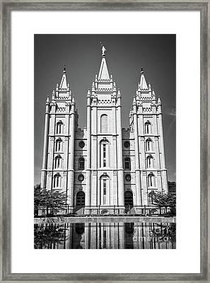 Salt Lake Temple Framed Print