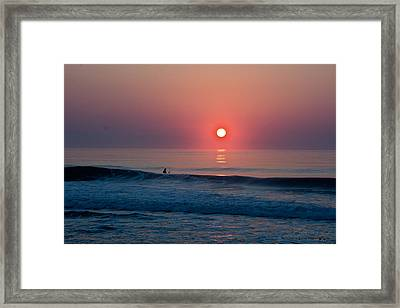 Salt Life Framed Print