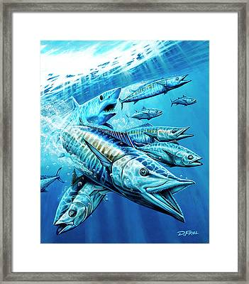 Salt Weapons Framed Print by Dennis Friel
