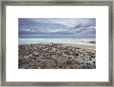 Saltburn Beach Framed Print by Nichola Denny