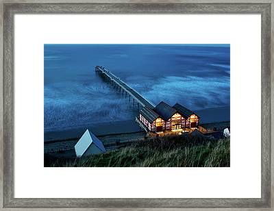 Saltburn - By - The - Sea Framed Print by Benjamin Lambert