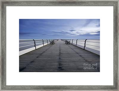 Saltburn Pier Framed Print by Nichola Denny