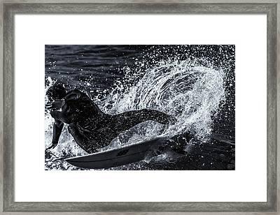 Salted Whip Framed Print by Thomas Gartner