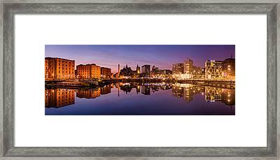Salthouse Dock, Liverpool Framed Print