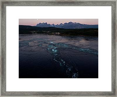 Saltstraumen, Magic Power Stream Framed Print by Tamara Sushko