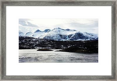 Saltstraumen Framed Print