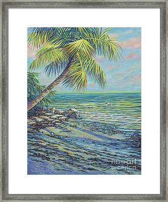 Salty Breeze Framed Print by Danielle Perry