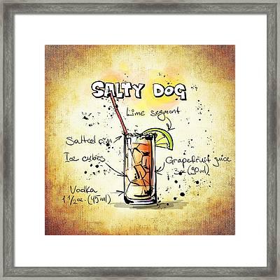 Salty Dog  Framed Print by Movie Poster Prints