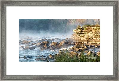 Saluda River At Daybreak Framed Print