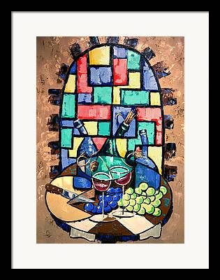 Fine Bottle Digital Art Framed Prints